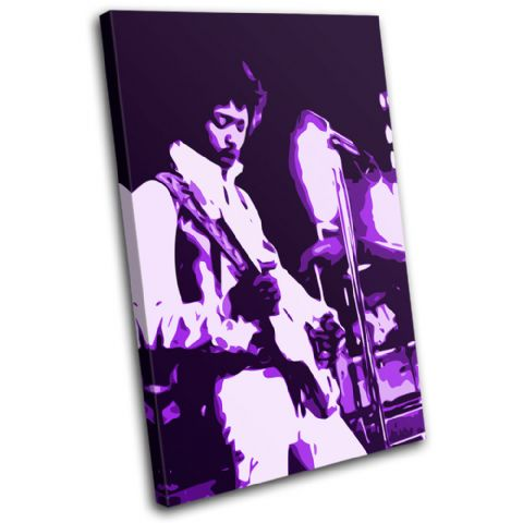 Jimi Hendrix Iconic Celebrities - 13-1955(00B)-SG32-PO